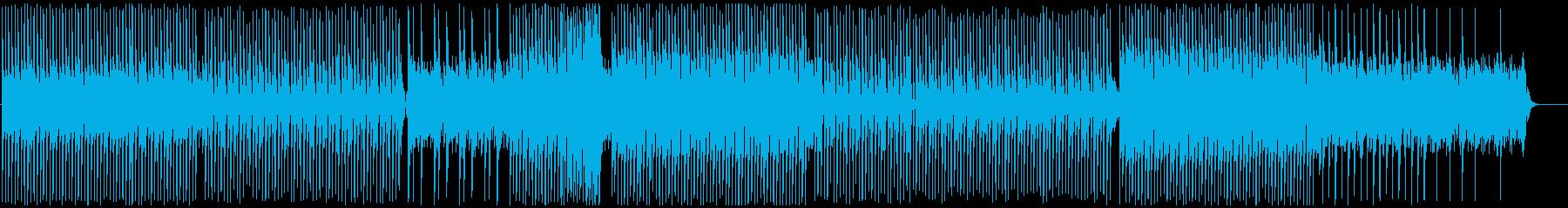 星が煌めくピアノハウスの再生済みの波形