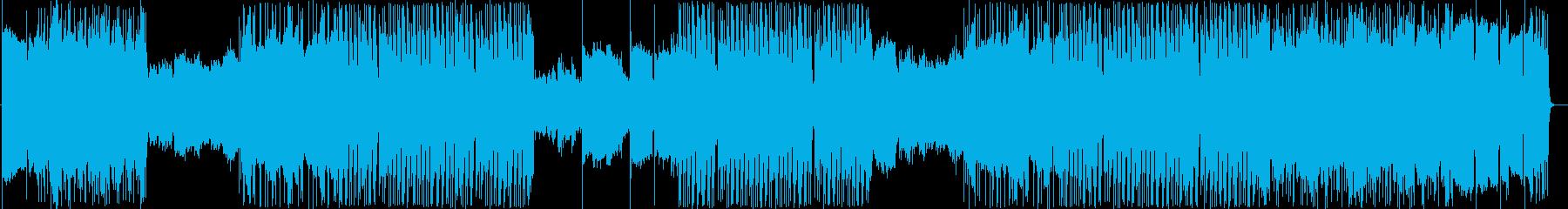 ヘビィでメロディアスなスピードチューンの再生済みの波形