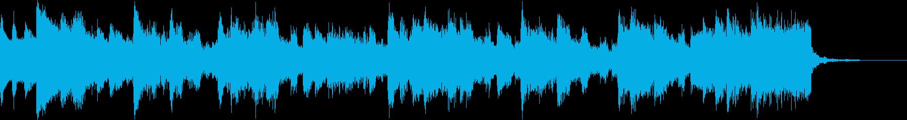 EDM・K-POP壮大キラキラエモ洋楽cの再生済みの波形