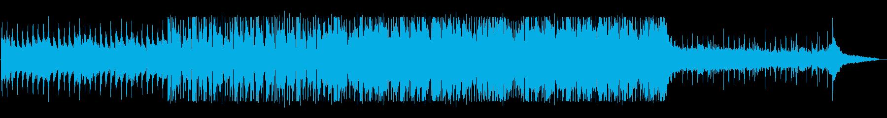 ゆるふわエレクトロサウンドの再生済みの波形