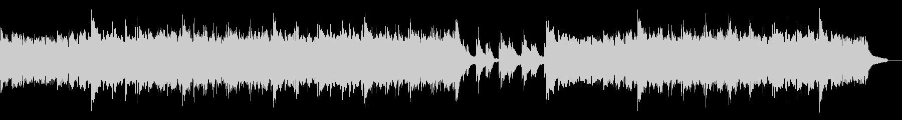 雄大なピアノアルペジオ:ピアノと小編成の未再生の波形