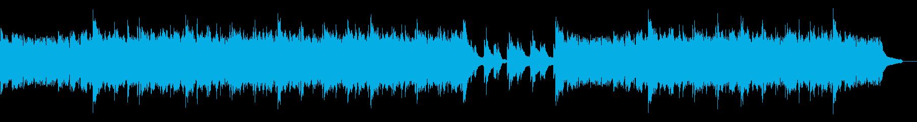 雄大なピアノアルペジオ:ピアノと小編成の再生済みの波形