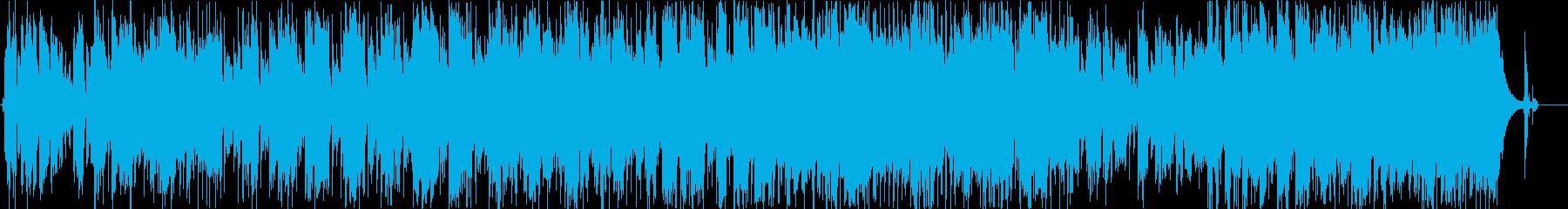 ユニバースの再生済みの波形