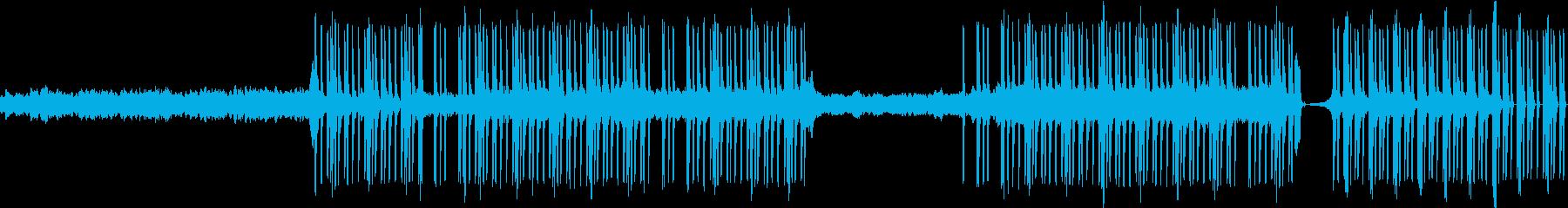 ハープとリズム。の再生済みの波形