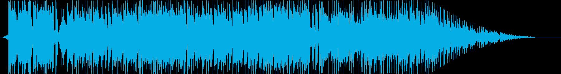 軽快なのに大人な雰囲気 フュージョンの再生済みの波形