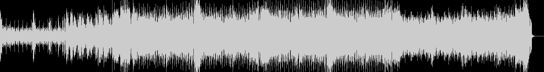 シンプルなフレンチハウスの未再生の波形