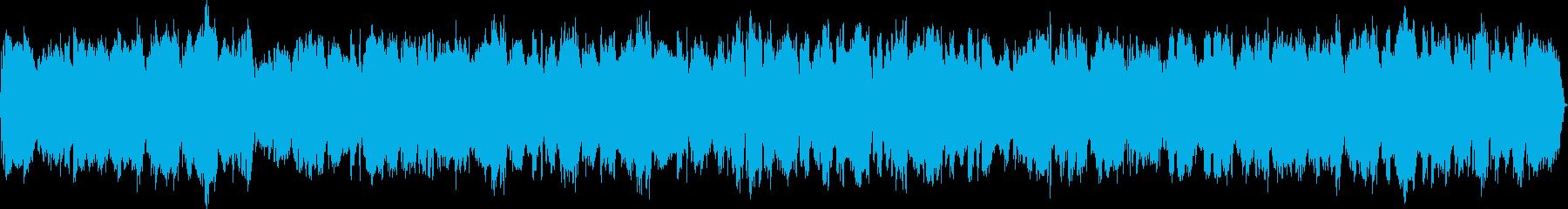 哀愁漂うアコーディオンの再生済みの波形
