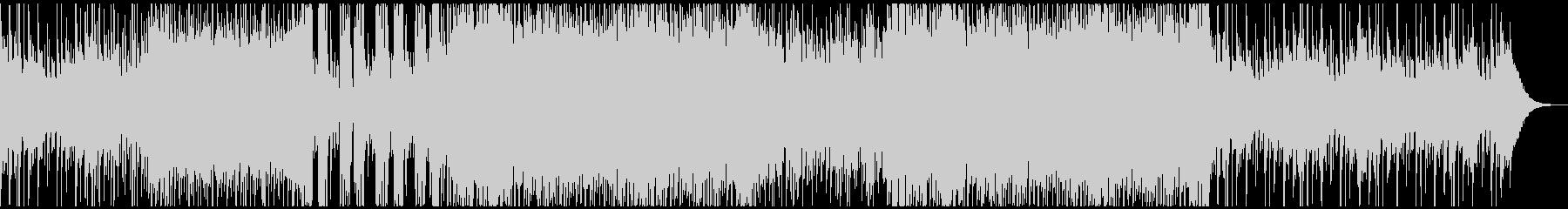 琴とシンセサウンドが融合したクールBGMの未再生の波形