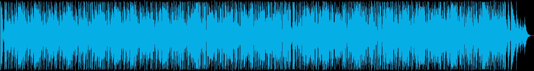 おしゃれなブルース系ギターサウンドの再生済みの波形