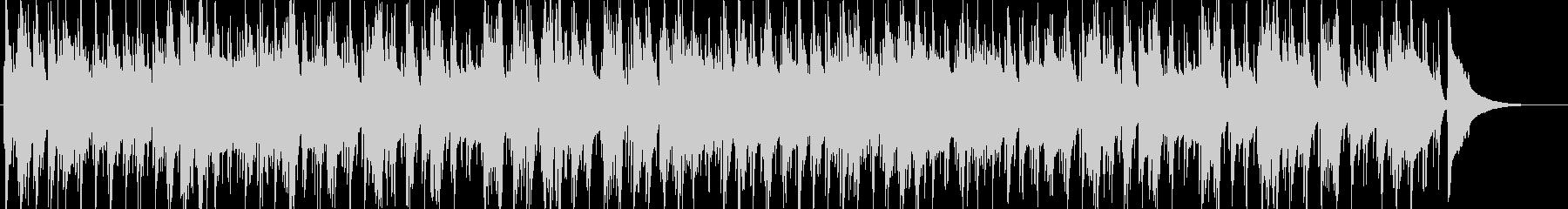 ゆったりとしたjazz=カフェ-トリオの未再生の波形
