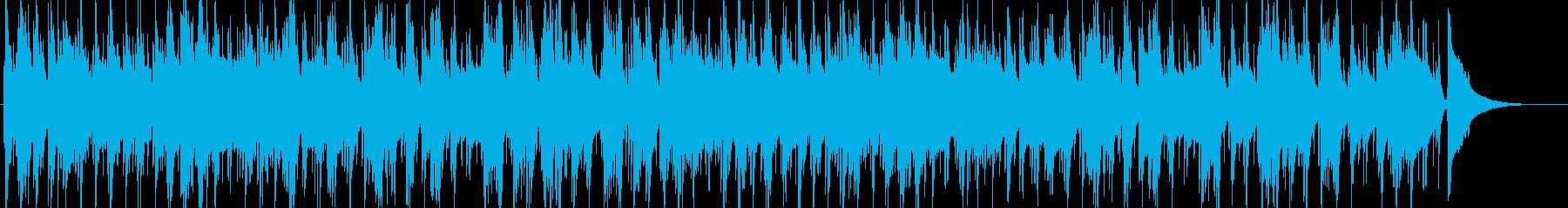 ゆったりとしたjazz=カフェ-トリオの再生済みの波形