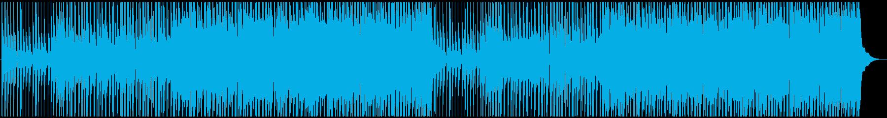 動画やCMに!夏の夕暮れトロピカルハウスの再生済みの波形