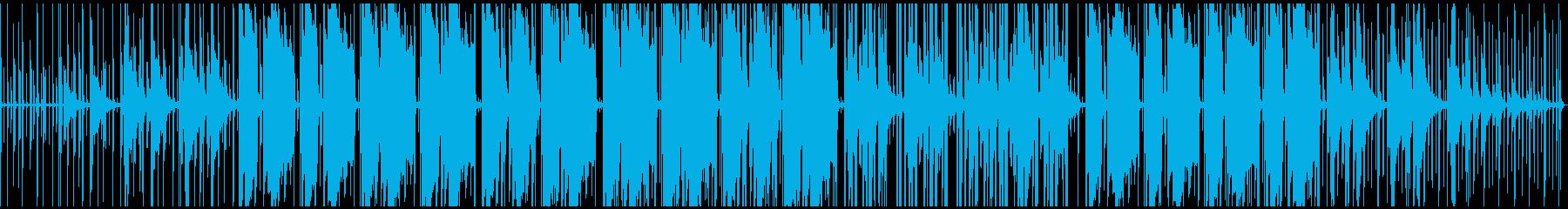 イージーリスニングなヒップホップの再生済みの波形