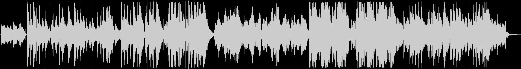 ほのぼのギターデュオ+チェロのインストの未再生の波形