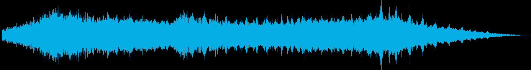 蝉の鳴き声〜夕暮れ〜(withカラス♪)の再生済みの波形
