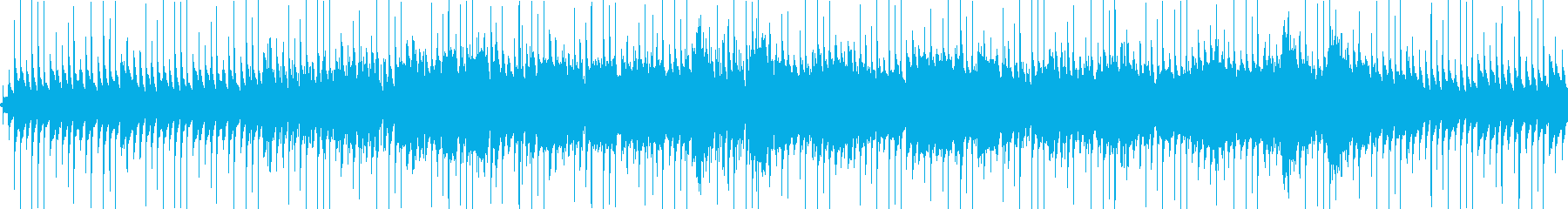 ホラー向けの不安定なBGMです。の再生済みの波形