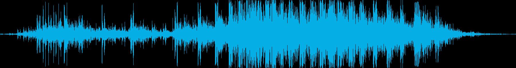 グッギィ。床・廊下などが軋む音の再生済みの波形
