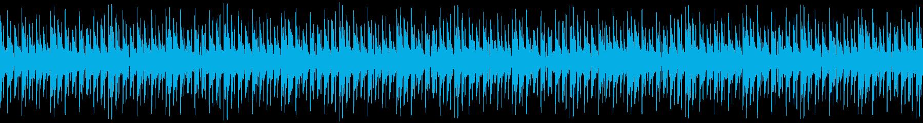 Loop Music (BGM)の再生済みの波形