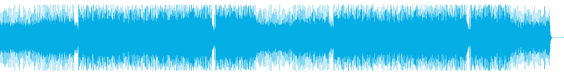 明るくアコースティックポップの再生済みの波形
