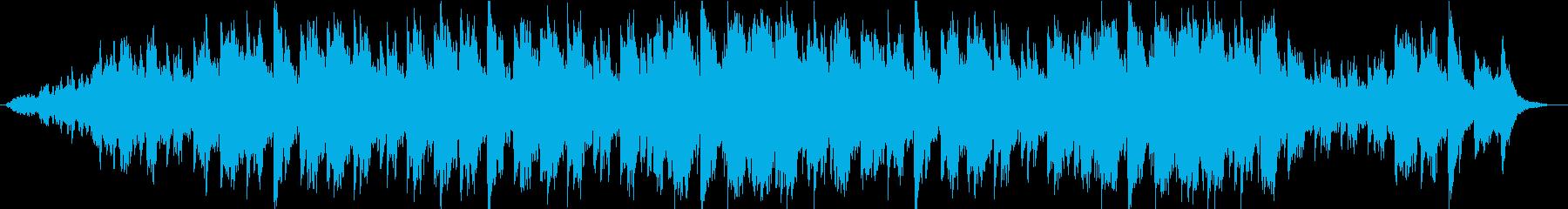 大地の自然を感じる雄大な曲の再生済みの波形