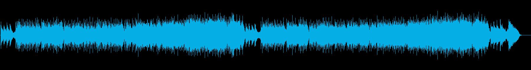 ノスタルジックな雰囲気の和風ミュージックの再生済みの波形