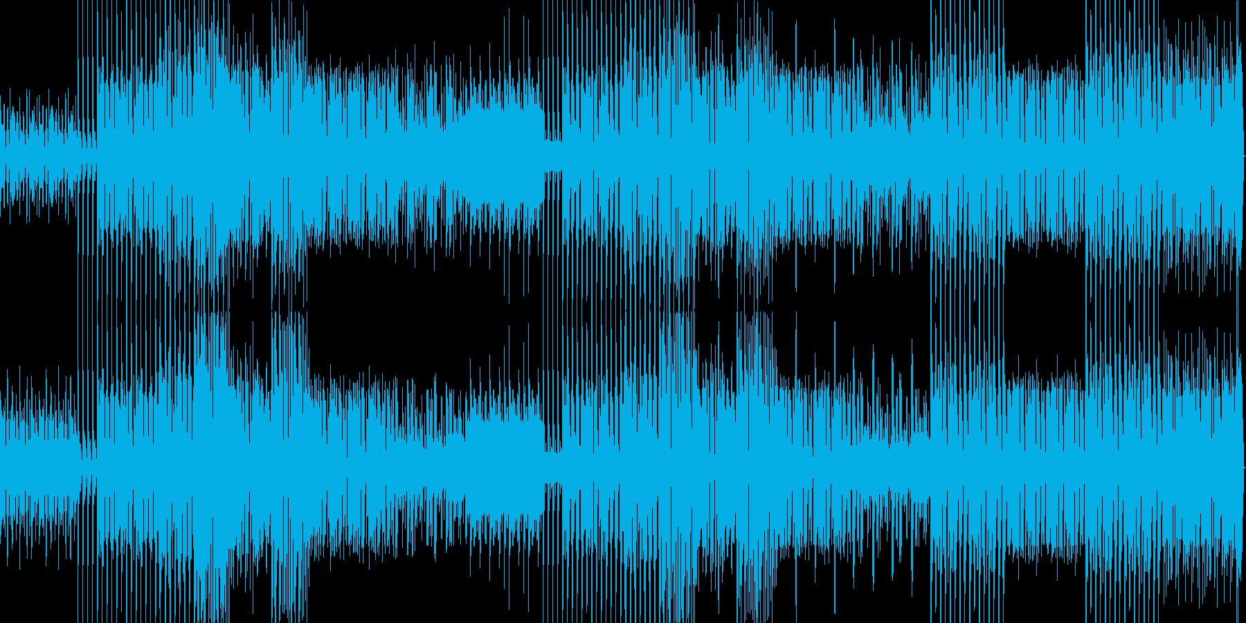エレクトロな謎解き系BGM その2の再生済みの波形