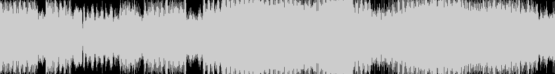 キラキラ感、バブル時代のディスコ風EDMの未再生の波形