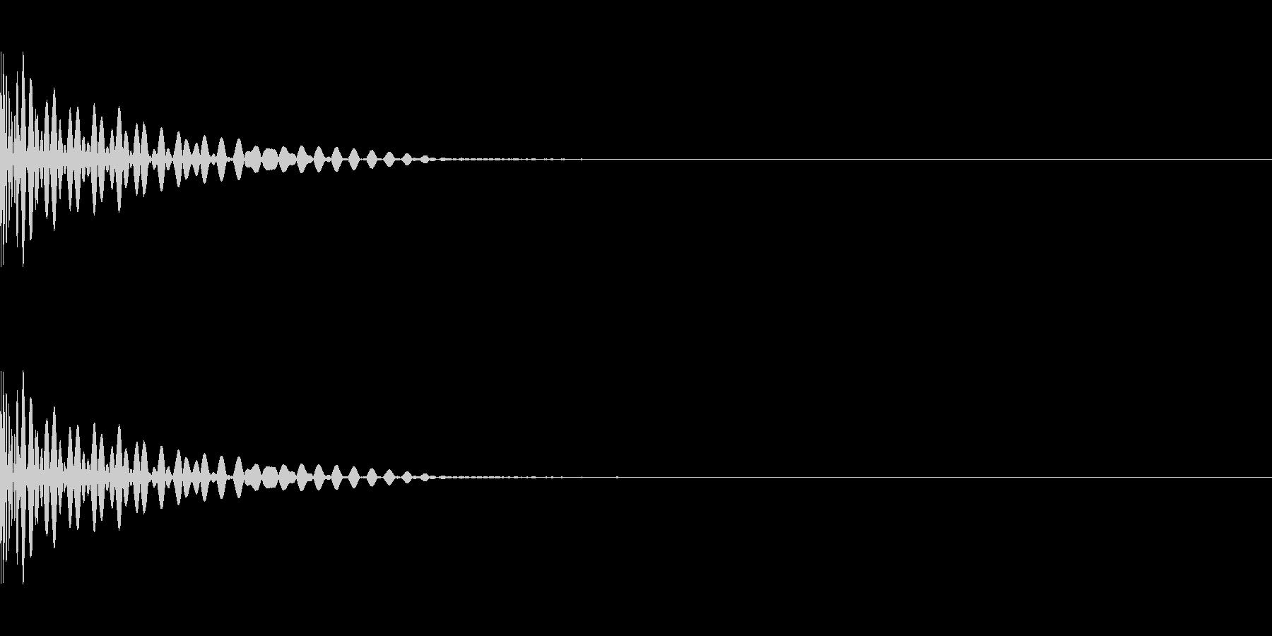 DTM Tom 7 オリジナル音源の未再生の波形