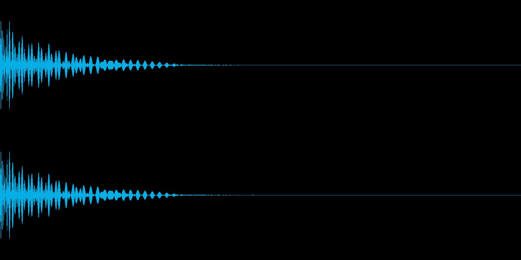 DTM Tom 7 オリジナル音源の再生済みの波形