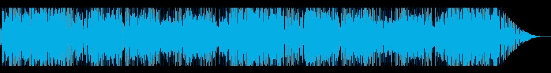 明るく青春なノベルゲーム風日常系ポップスの再生済みの波形