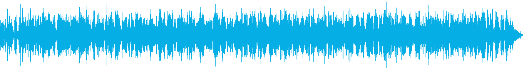 12月という年の瀬の思い出にふけるBGMの再生済みの波形