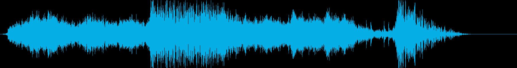 実験的な アンビエント バトル 焦...の再生済みの波形