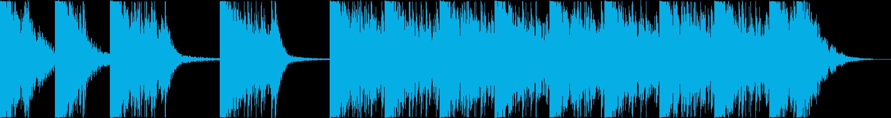 打楽器+打撃音 BPM=132の再生済みの波形