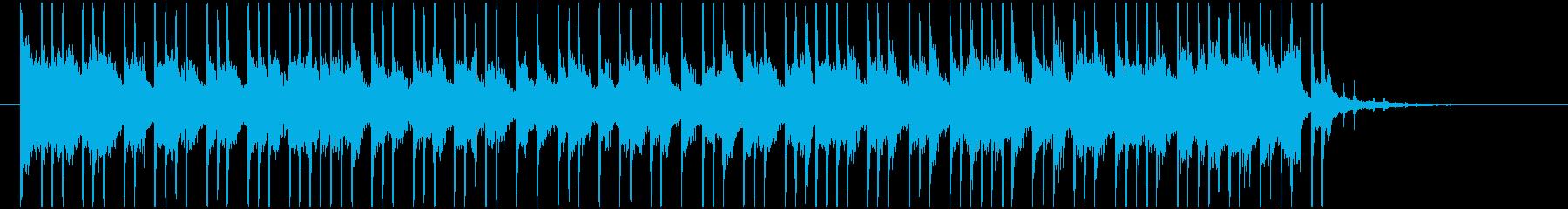 爽やかで軽快かっこいいトロピカルハウスの再生済みの波形