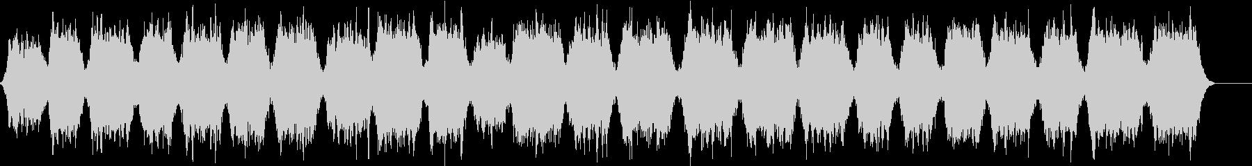 波の音が入ったリラックスできる曲の未再生の波形
