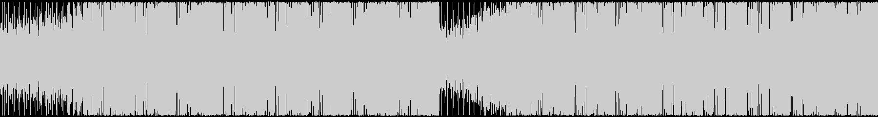 【ループ】明るいフューチャーベースの未再生の波形