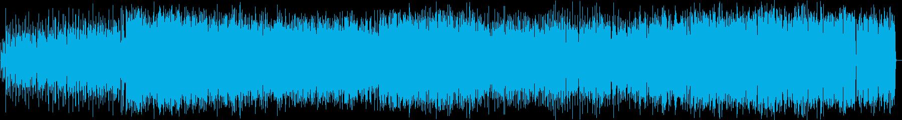 レトロゲーム風のSKA+女性Vocalの再生済みの波形