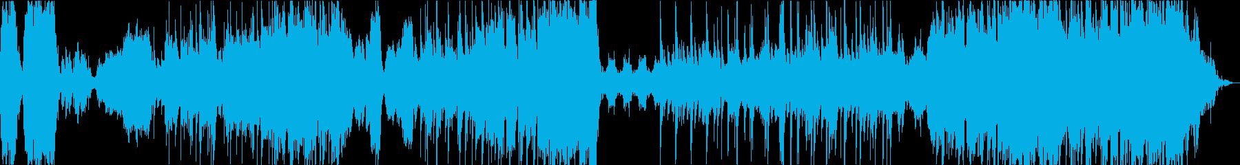 幻想的でJazzyなハイブリッド曲の再生済みの波形