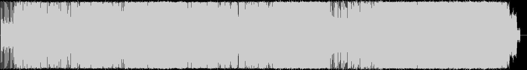 ホーリー・ナイトの未再生の波形