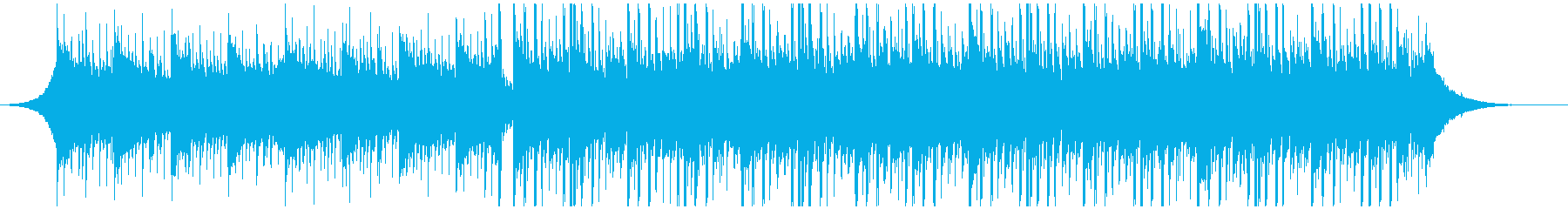 新技術(60秒)の再生済みの波形