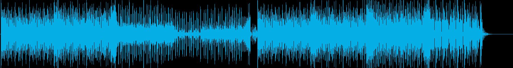 和風昔風エレクトロポップ:メロなしverの再生済みの波形