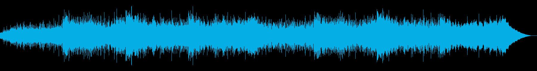エレクトロニックで奇妙なテクスチャーの再生済みの波形