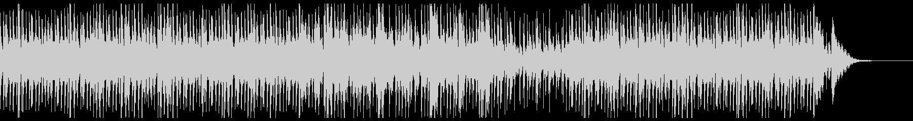 わくわくピアノトリオのクリスマス・ジャズの未再生の波形