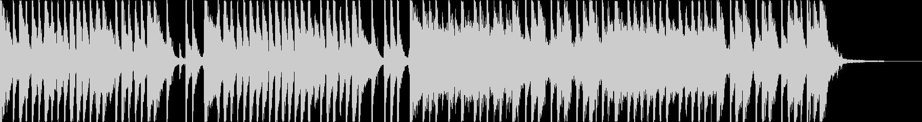 爽やかに流れるようなピアノポップの未再生の波形