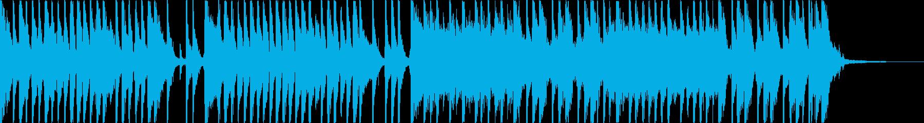 爽やかに流れるようなピアノポップの再生済みの波形