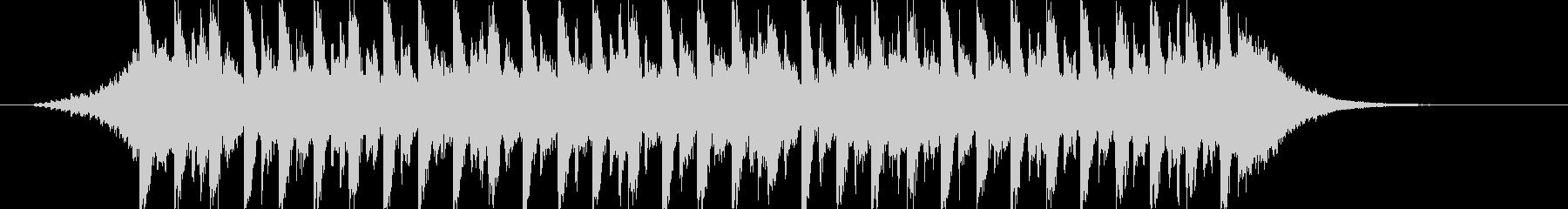 映像に、落ち着いたFuturePop1cの未再生の波形
