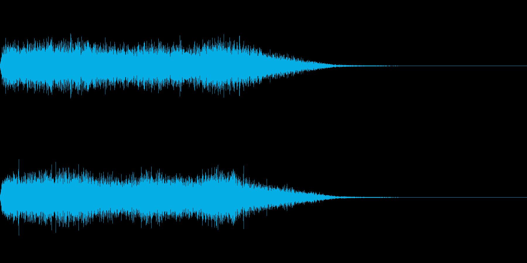歓声 応援 拍手 大規模 舞台 効果音1の再生済みの波形