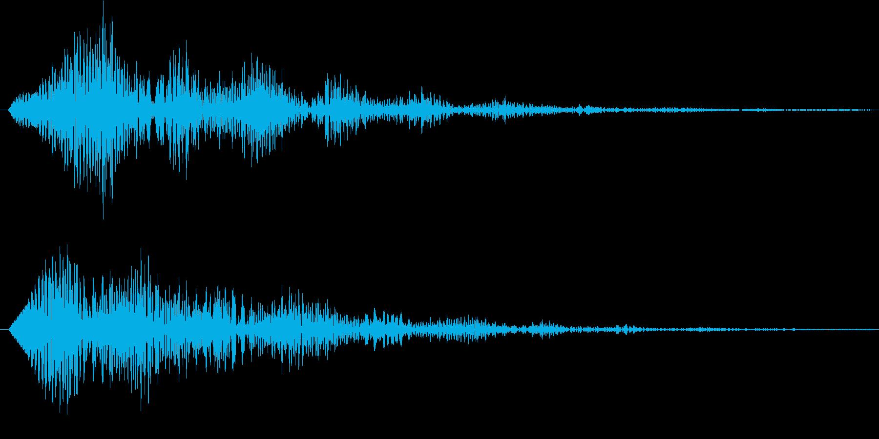 ポロローン(サウンドロゴ、決定)の再生済みの波形