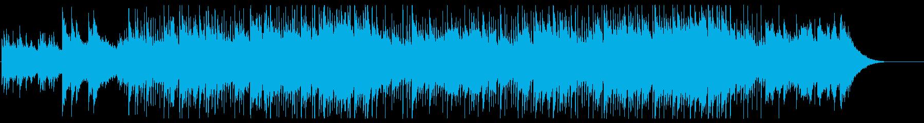 暖かでしっとりとした明るいバラードの再生済みの波形