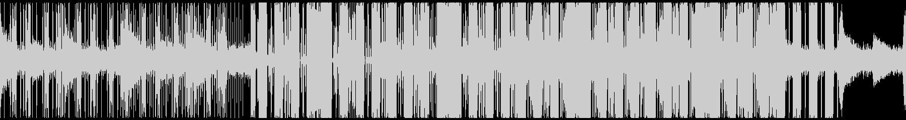 幻想的ダブステ・グリッチホップ・ループ◯の未再生の波形